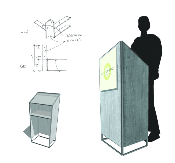 build wood podium