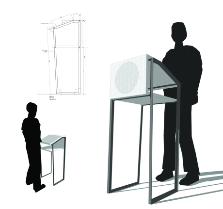 Small Lectern